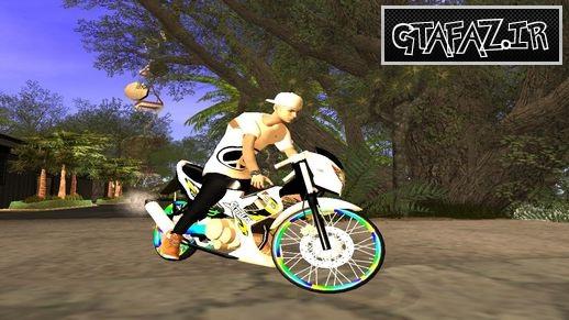 دانلود موتور زیبای Satria FU Drag برای gta_sa