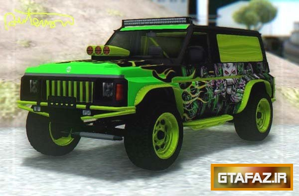 دانلود ماشین GTA V Annis Hellion برای (GTA (San Andreas